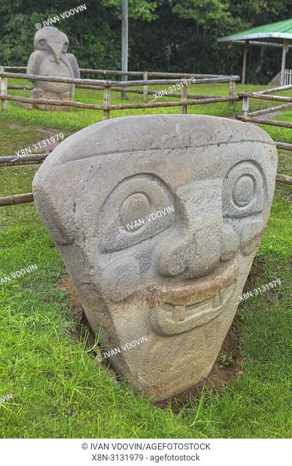 Precolumbian art, San Agustin Archaeological Park, Huila Department, Colombia