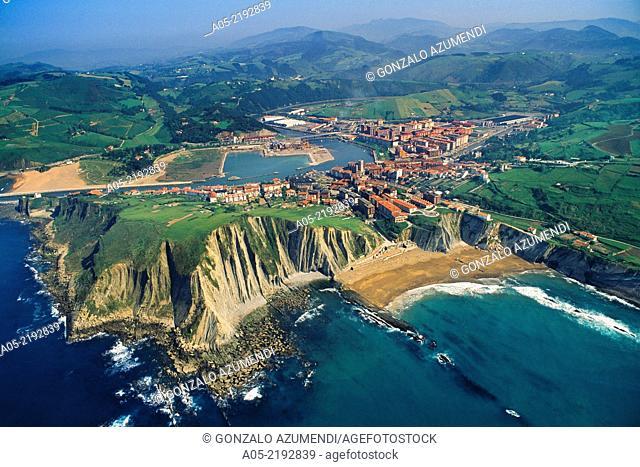 Zumaia. Guipuzcoa, Basque Country, Spain