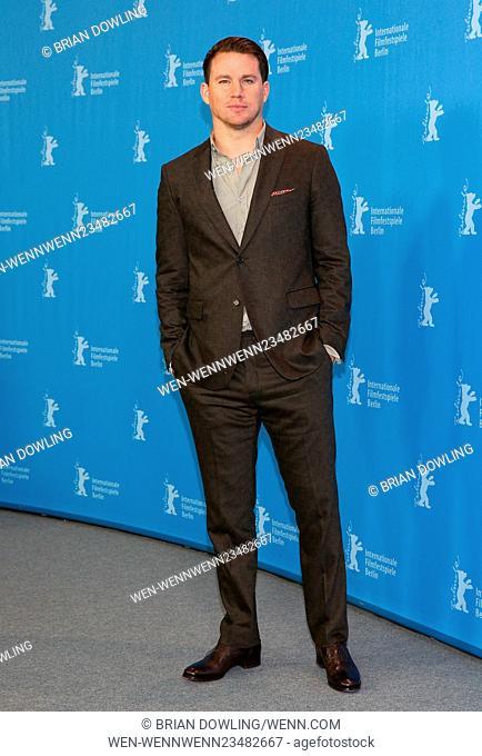 The 66th Annual International Berlin Film Festival (Berlinale) - Hail, Caesar! - Photocall at Grand Hyatt Hotel Featuring: Channing Tatum, George Clooney