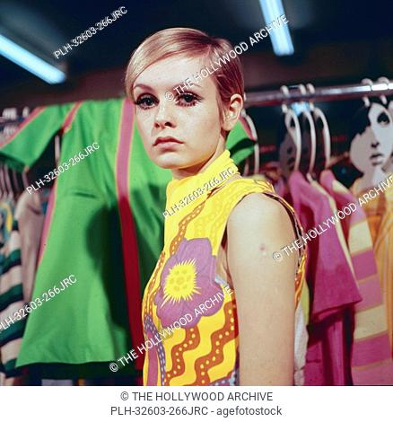 Twiggy, 1966. © JRC /The Hollywood Archive - All Rights Reserved