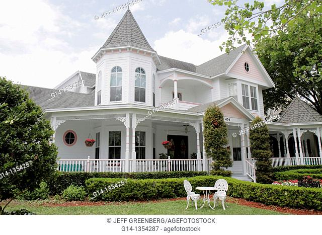 Florida, Orlando, Kissimmee, Celebration, planned community, Victorian-style, house, home