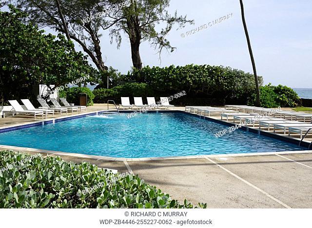 The Condado Plaza Hilton hotel Saltwater Pool-San Juan, Puerto Rico