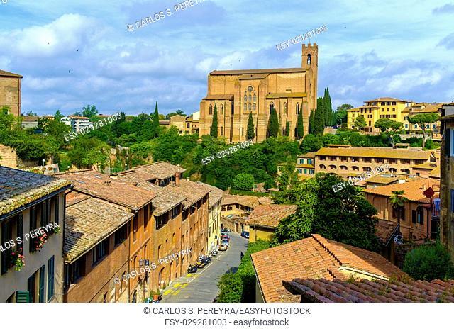 Basilica Cateriniana San Domenico in Siena Italy Europe