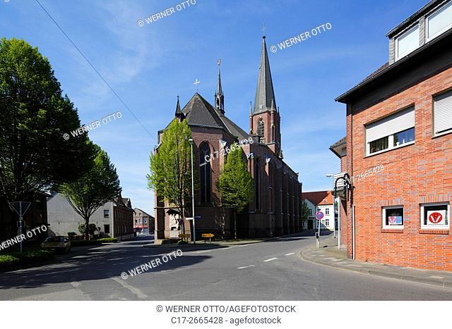 Germany, Nettetal, Maas-Schwalm-Nette Nature Park, Schwalm-Nette Nature Park, Lower Rhine, Rhineland, North Rhine-Westphalia, NRW, Nettetal-Schaag