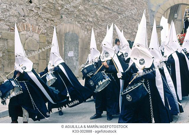 Holy Week in Lower Aragon. Spain