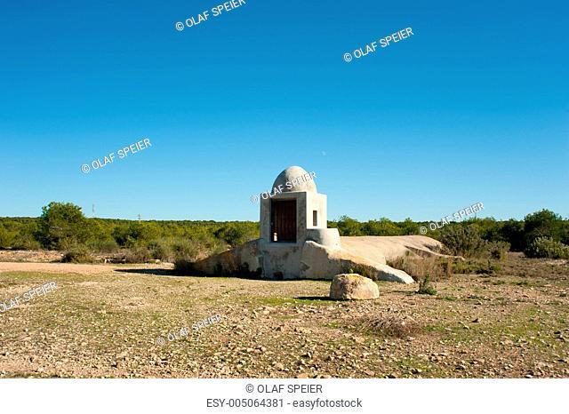 Traditional rainwater cistern