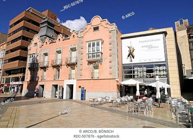 Museo del Teatro Romano, the Roman Theatre Museum, Cartagena, Murcia Region, Spain, Europe