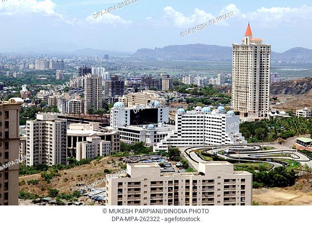 Hiranandani buildings, Powai, Mumbai, Maharashtra, India, Asia
