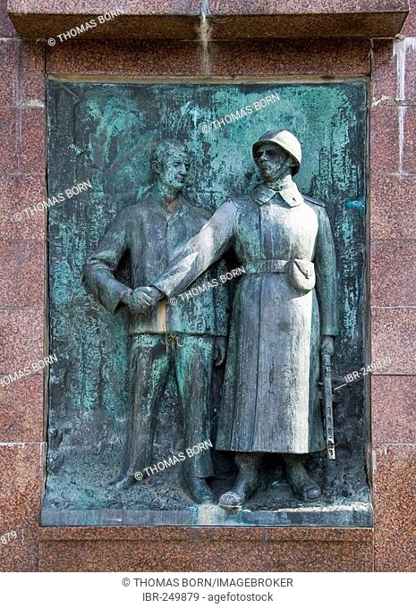Memorial for Soviet soldiers killed in the Second World War, Stralsund, Mecklenburg-Western Pomerania, Germany
