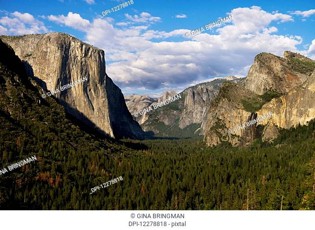Tunnel view in Yosemite National Park; California, United States of America