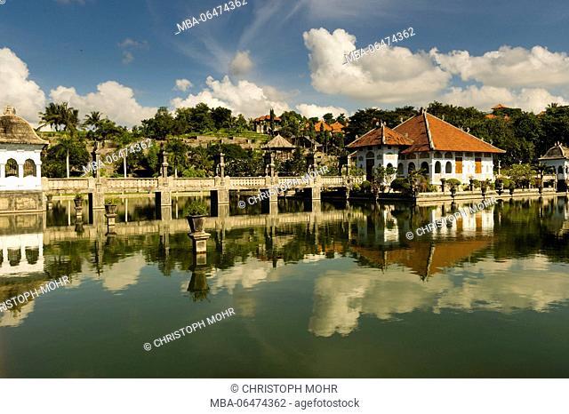 Amlapura, water palace Puri Taman Ujung