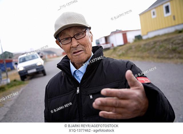 Man, Narsaq, South Greenland