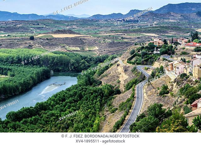 San Vicente de la Sonsierra views  La Rioja, Spain
