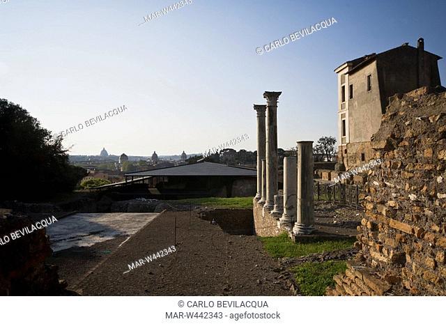 palatine hill, rome, lazio, italy