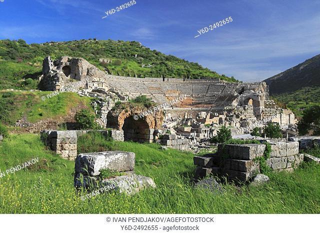 Ancient Theatre, Ephesus, Turkey