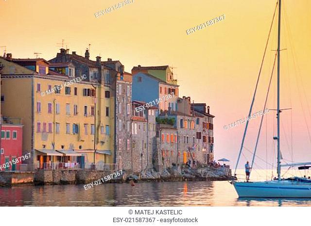 Coastal town of Rovinj, Istria, Croatia