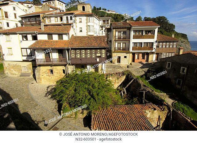 Lastres, Colunga. Asturias, Spain