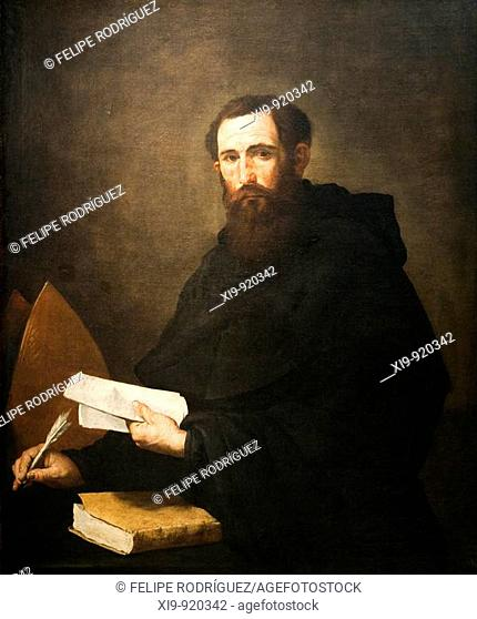 Saint Augustine of Hippo (1636), painting by Jose de Ribera and his workshop, Goya Museum, Castres, France