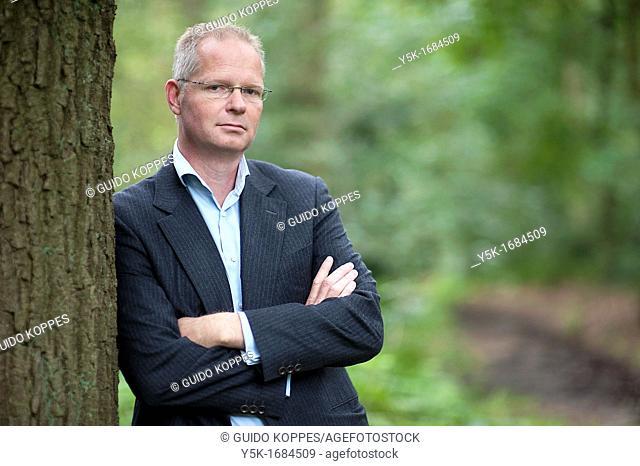 Maartensdijk, Netherlands. Editorial portrait of a consultant