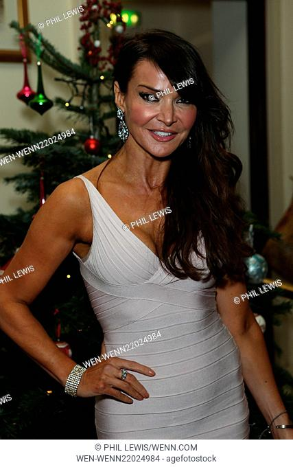 Shooting Star Chase charity dinner and auction at Bombay Brasserie in Kensington Featuring: Lizzie Cundy Where: London, United Kingdom When: 16 Dec 2014 Credit:...