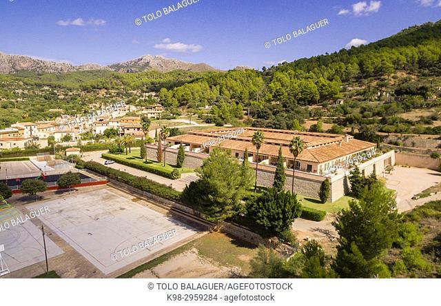 CCA, Andratx Centro de Arte, Andratx, Sur de la Sierra de Tramuntana, Mallorca, Balearic islands, Spain