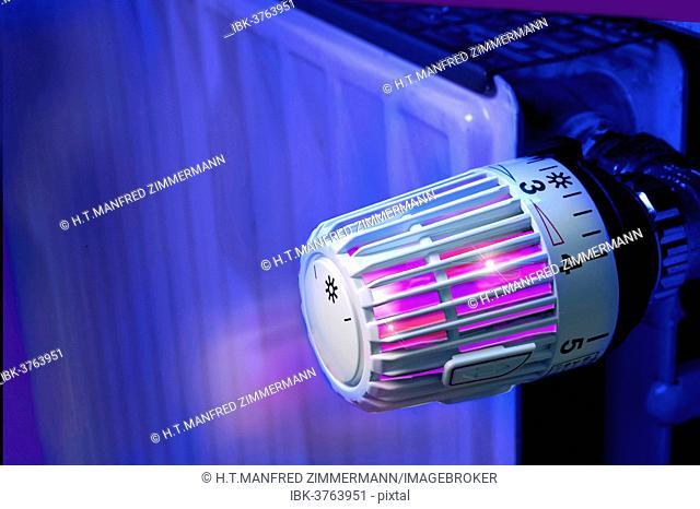 Thermostat, radiator