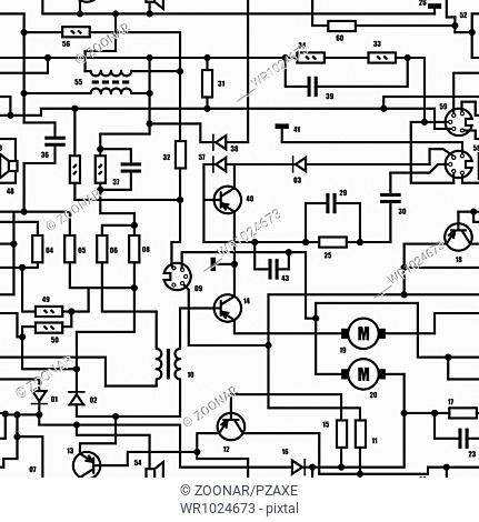 Electronics Component Diagram Stock Photos And Images