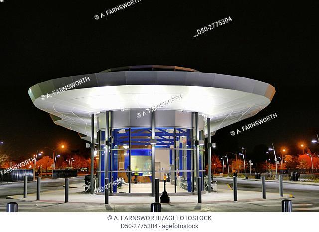 NORFOLK Va. City bus stop