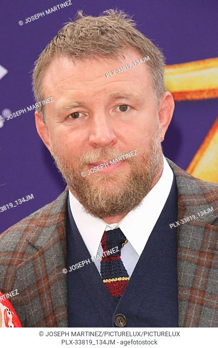 """Guy Ritchie at The World Premiere of Disney's """"""""Aladdin"""""""" held at El Capitan Theatre, Hollywood, CA, May 21, 2019. Photo Credit: Joseph Martinez / PictureLux"""