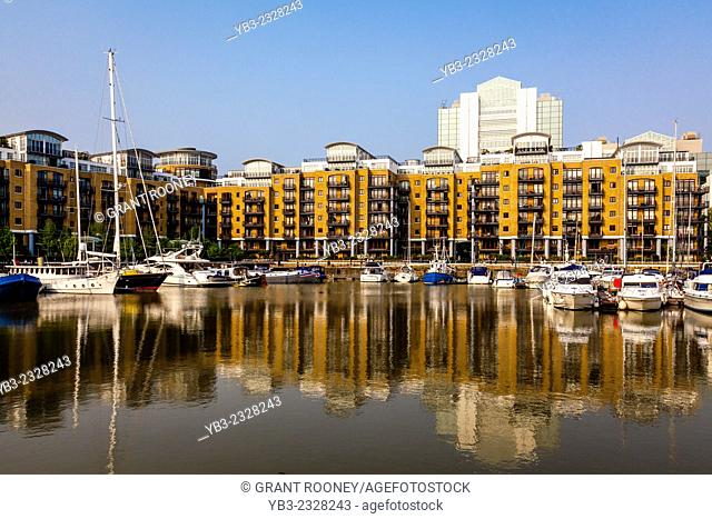 St Katharine Docks, London, England