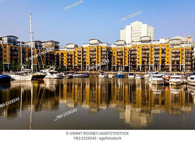 St Katharine Docks, London, England