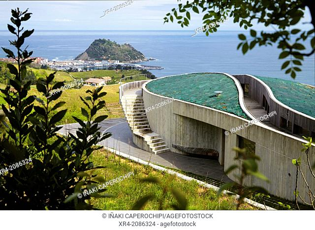 Detached Villa overlooking the Bay of Biscay, Getaria, Guipuzcoa, Basque Country, Spain