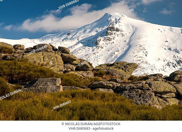 Castilfrío peak. Gredos Range and Garganta de los Infiernos Reserve. Cáceres. Extremadura. Spain