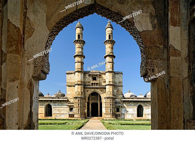 Jami masjid , Champaner , Gujarat , India