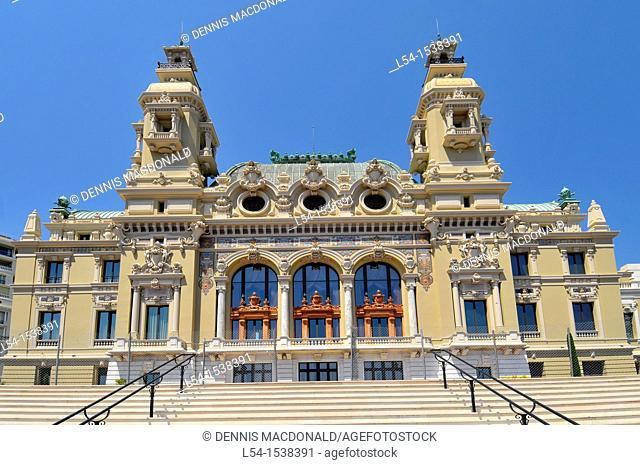 Monte Carlo Casino Monaco Principality French Riviera Mediterranean Cote d'Azur Alps