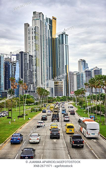 Cinta Costera, Panama City, Panama, Republic of Panama, Central America