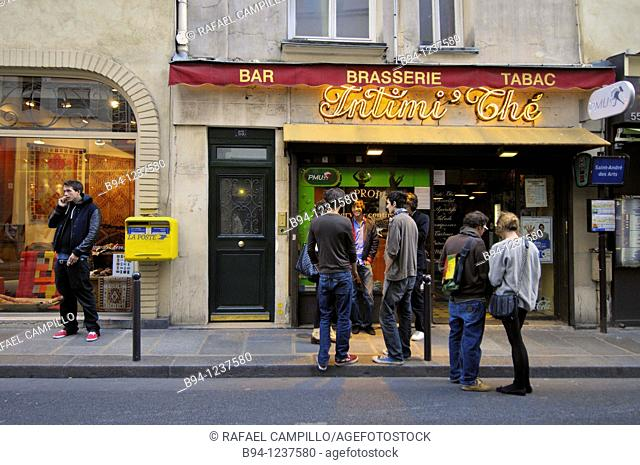 Brasserie. Latin quarter. Paris, France