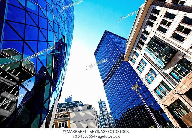 The Gerkin, London, wide angle