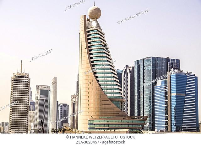 The Etisalat Tower 2 in the Zabeel district, Dubai, UAE
