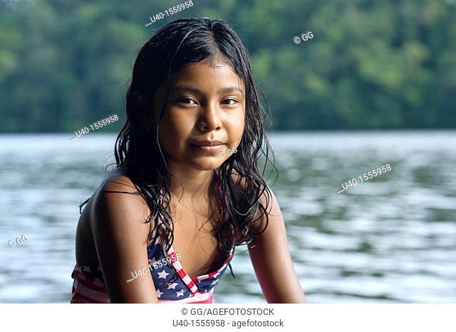 Portrait of latin girl
