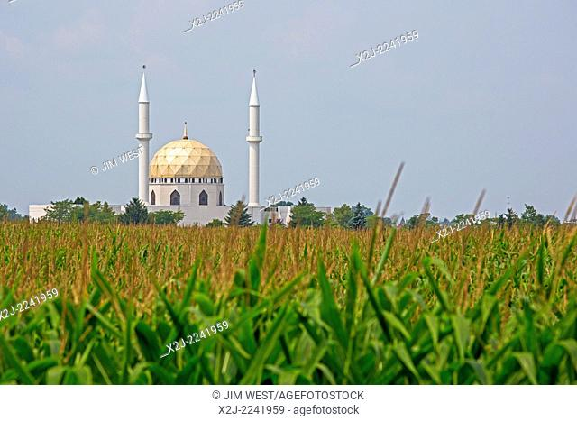 Perrysburg, Ohio - The Islamic Center of Greater Toledo, a mosque in the corn fields south of Toledo
