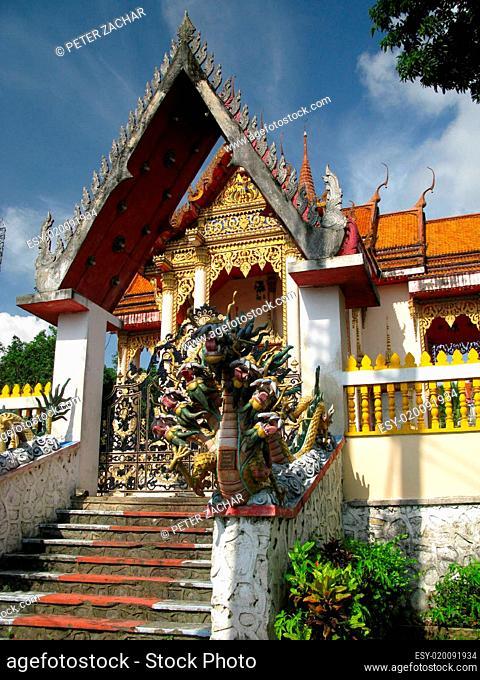 Thailand temple, Asia
