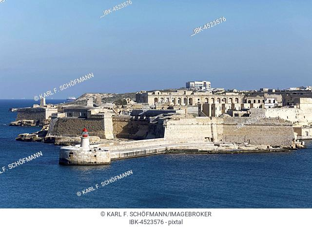 Fort Ricasoli on the Grand Harbor of Valletta, film location, Kalkara, Malta