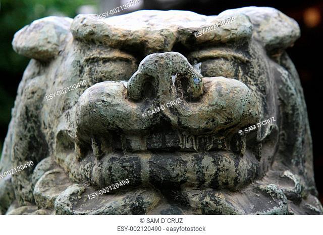 Beast Stone Statue - Sensoji Shrine,Tokyo, Japan