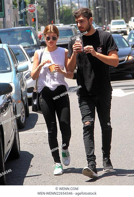 Sofia Richie picks up frozen yogurt with friends in Beverly Hills Featuring: Sofia Richie Where: Los Angeles, California