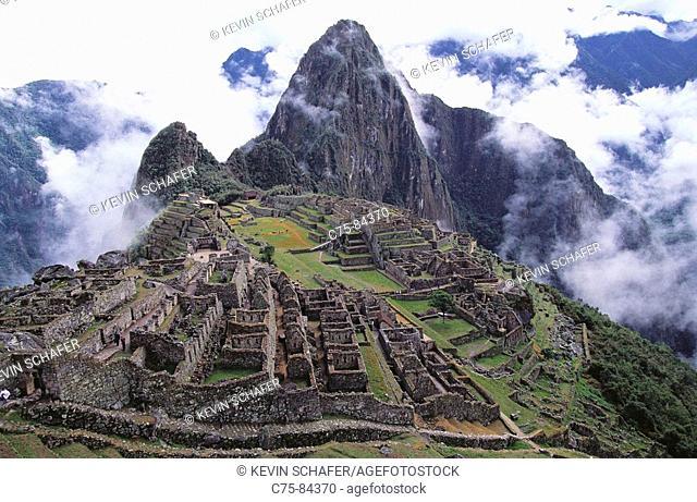 Machu Picchu, Inca ruins. Peru