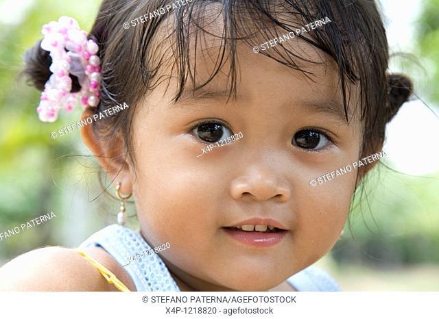 Portrait of a girl, Saigon, Vietnam