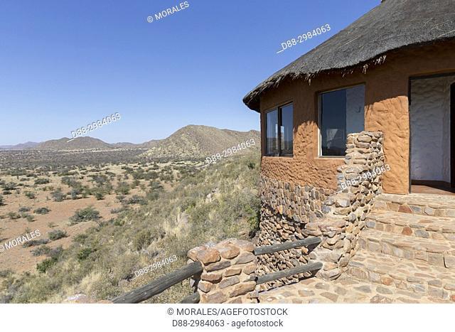 Africa, Southern Africa, South African Republic, Kalahari Desert, savannah, lanscape