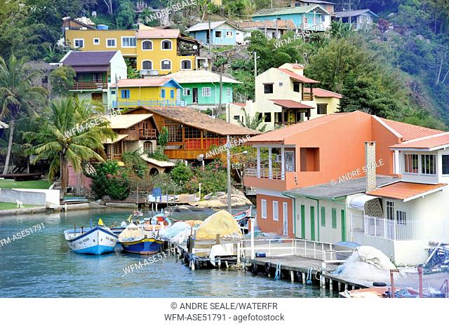 Fishing Village Barra da Lagoa, Florianopolis, Santa Catarina, Brazil