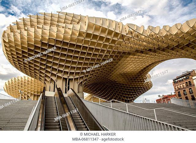 Europe, Spain, Andalusia, Seville, Parasol, Placa de la Encarnacion